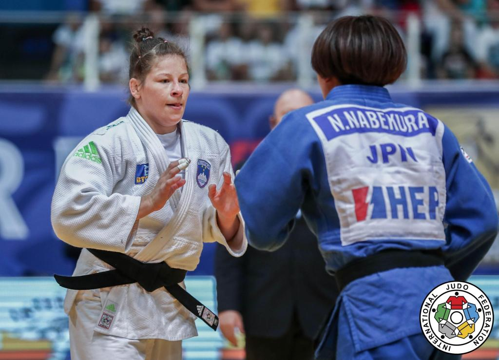 TRSTENJAK TESTED AS SHE COLLECTS GRAND PRIX GOLD IN ZAGREB