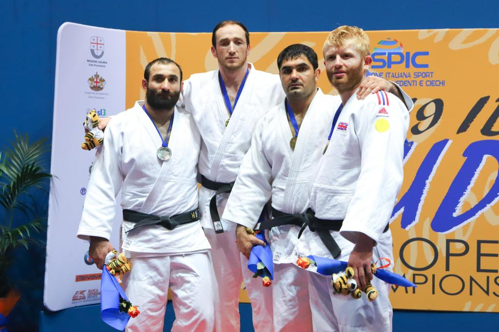 SURPRISE IN IBSA EUROPEAN CHAMPIONSHIPS AS GOGOTCHURI ACCEPTS DEFEAT