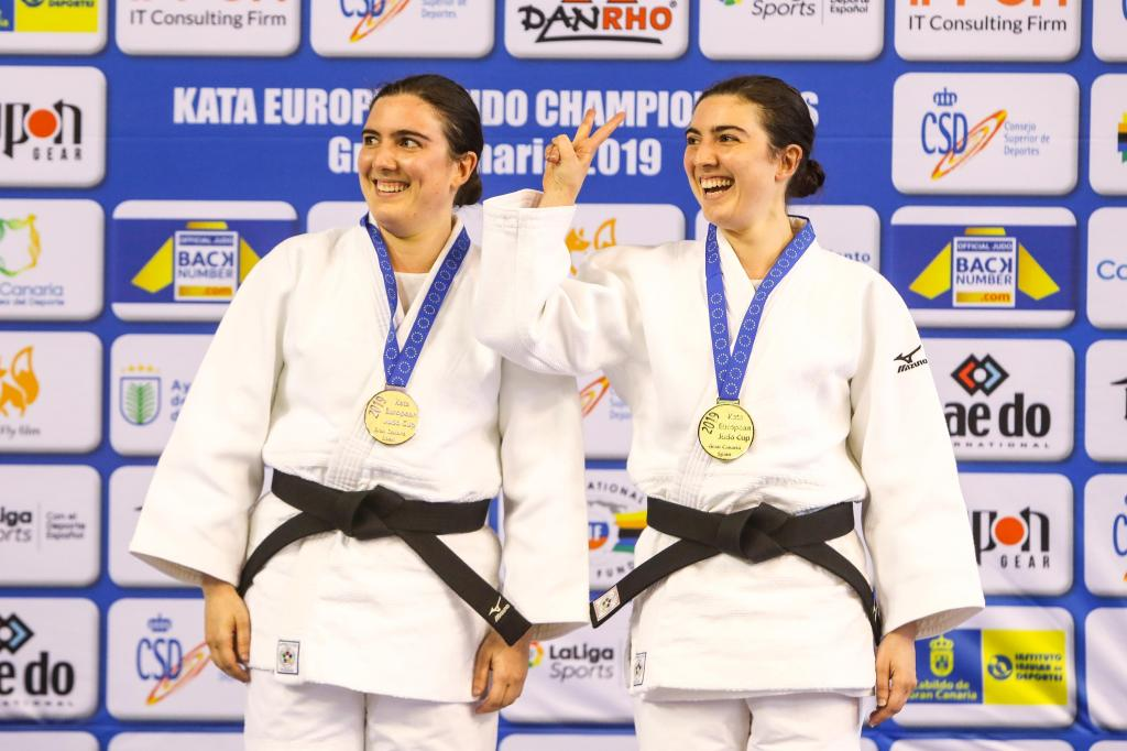 ITALIAN DUO DOMINATE IN THE 2019 KATA EUROPEAN CHAMPIONSHIPS