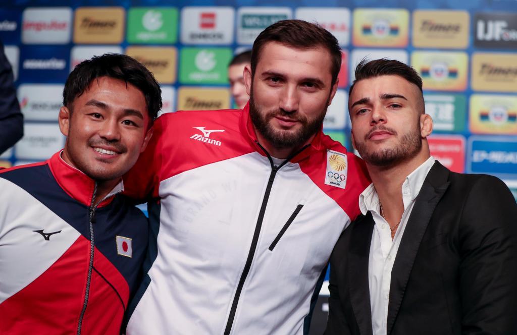 TOKYO WORLD JUDO CHAMPIONSHIPS PRESS CONFERENCE