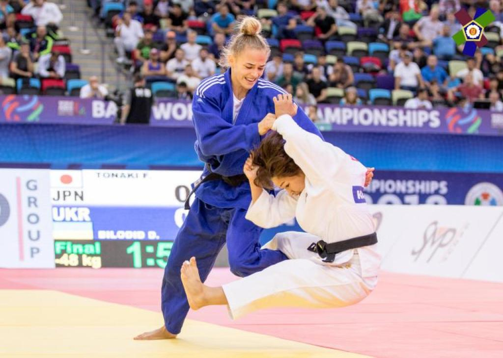 OPPORTUNITY FOR BILODID TO RETAIN WORLD TITLE IN THE HOME OF JUDO