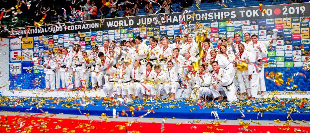 CELEBRATING EUROPEAN SUCCESS IN TOKYO WORLD CHAMPIONSHIPS