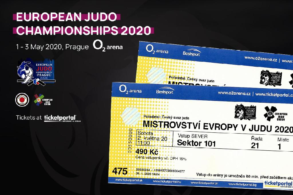 LAST CALL FOR TICKETS FOR EUROPEAN CHAMPIONSHIPS IN PRAGUE