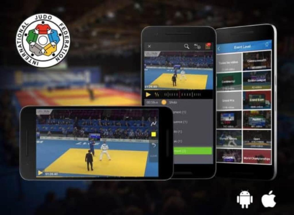GAIN BACK ACCESS TO THE WORLD OF JUDO WITH IJF APP