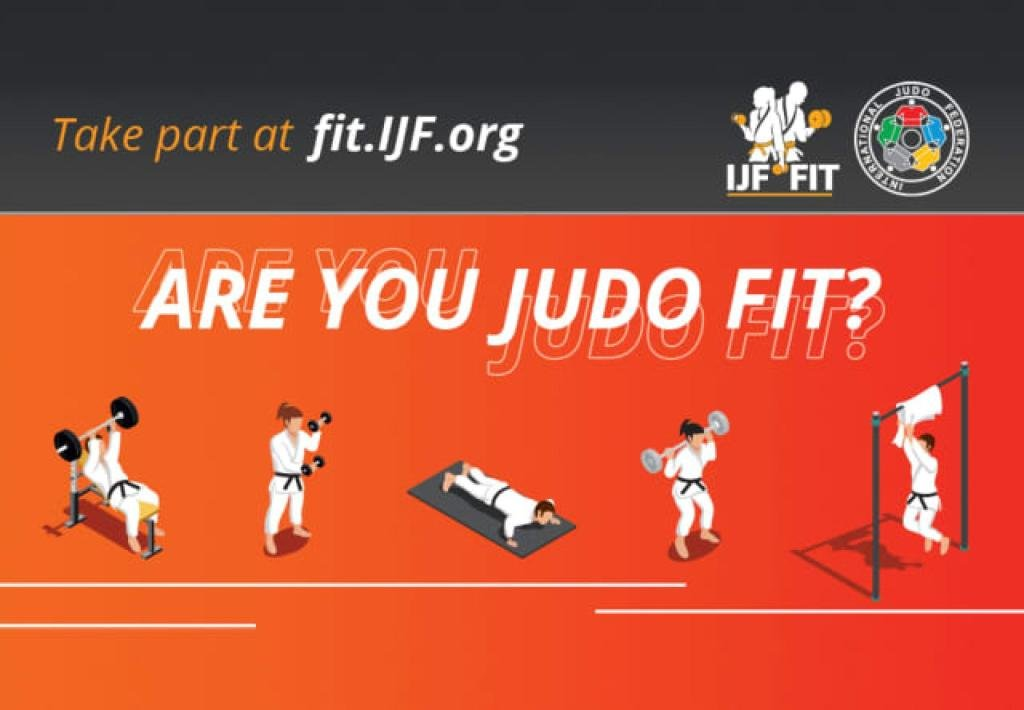IJF JUDO FIT CHALLENGE GOES LIVE