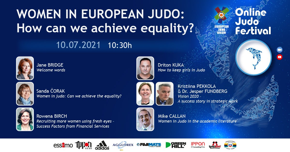 GENDER EQUALITY ROUND TABLE ANNOUNCED AS PART OF 2021 JUDO FESTIVAL