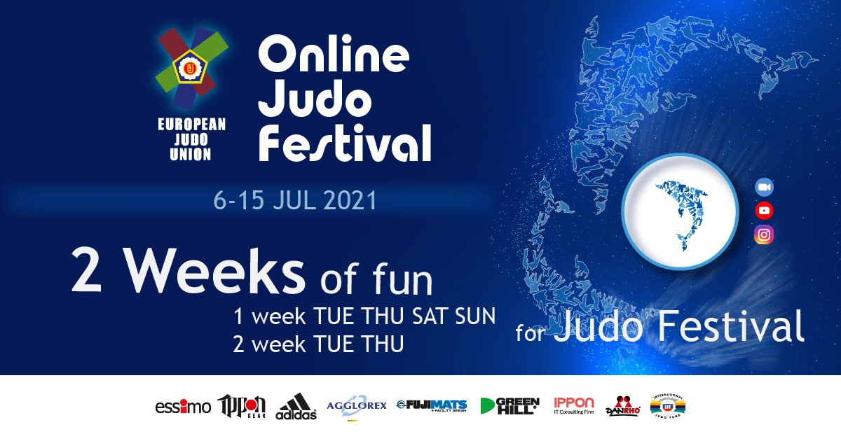 JUDO FESTIVAL 2021 IS ON OUR DOORSTEP