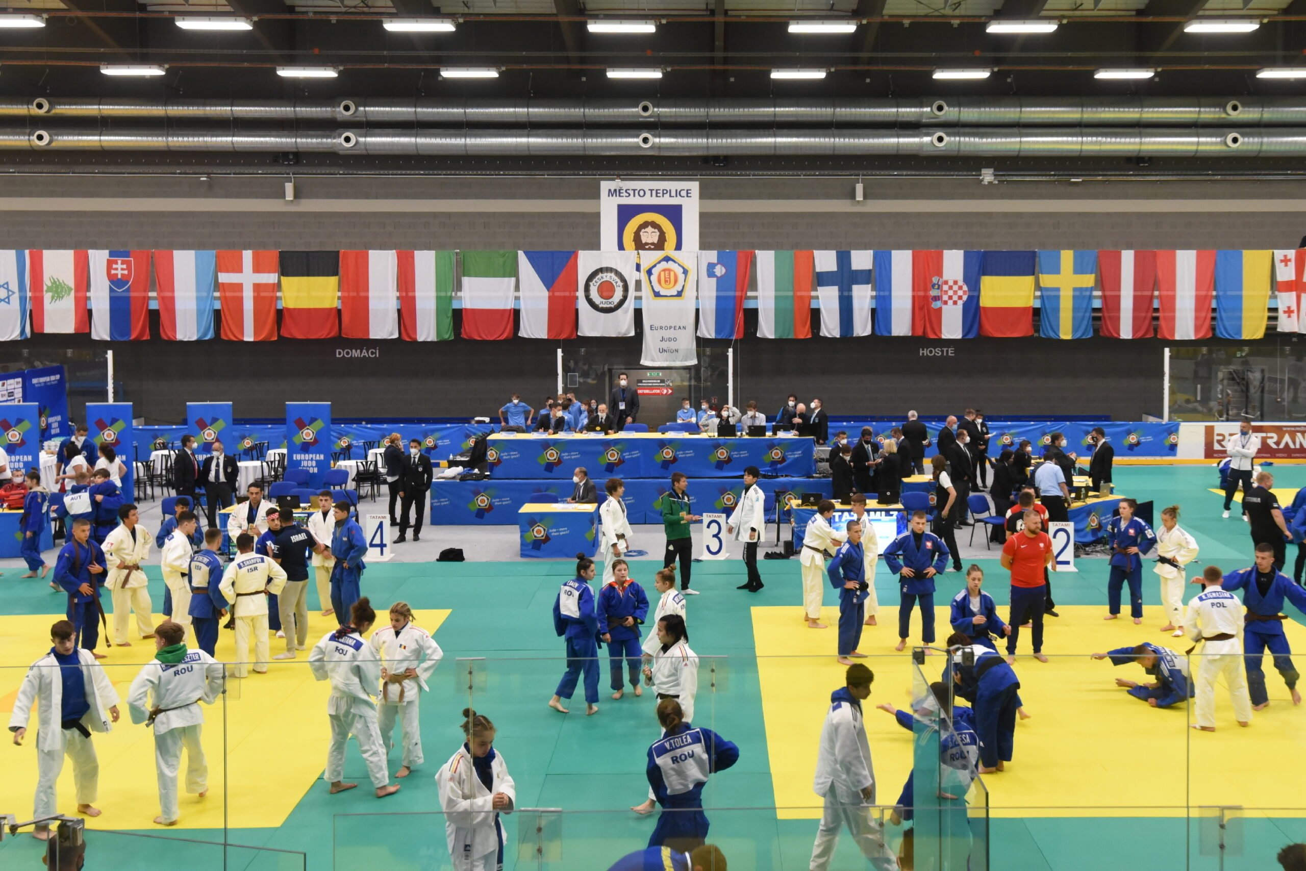COMPETITION RETURNS TO CZECH REPUBLIC WITH JUNIORS