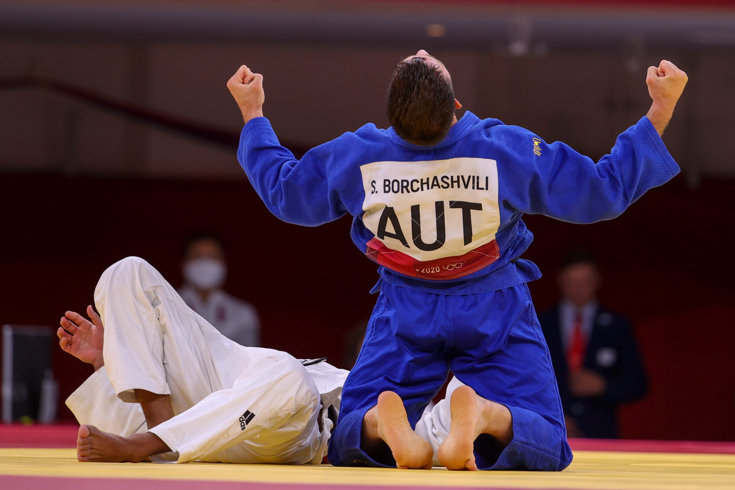 BORCHASHVILI AND POLLERES SEIZE BEST OLYMPIC RESULTS SINCE 1984