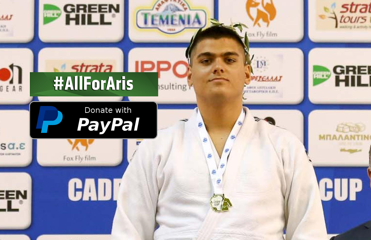 ALL FOR ARIS: JUDOKA FOR JUDOKA IN LIFE CHANGING APPEAL