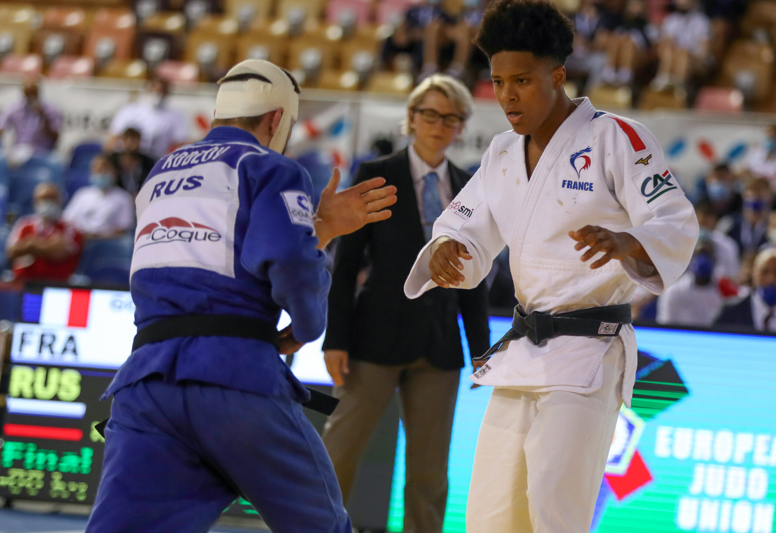 FRANCE AND RUSSIA BATTLE IT OUT FOR TOP SPOT IN THE MEDAL RANKING